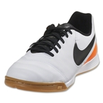 Nike Tiempo Legend 6 IC Junior (White/Total Orange)