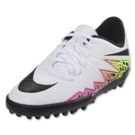 Nike Hypervenom Phelon II TF Junior (White/Total Orange)