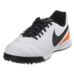 Nike Tiempo Legend 6 TF Junior (White/Total Orange)