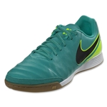 Nike Tiempo Genio II Leather IC (Clear Jade/Volt)