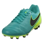 Nike Junior Tiempo Legend 6 FG (Clear Jade/Volt/Black)