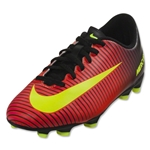 Nike Mercurial Vortex III FG Junior (Total Crimson/Black)
