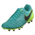 Nike Tiempo Genio II Leather FG (Clear Jade/Volt)
