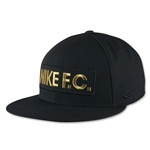 Nike FC Block True Snapback Cap (Black)