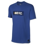 Nike FC Foil T-Shirt (Royal Blue)