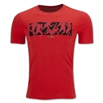 Nike FC Six a Side T-Shirt (Red)