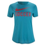 Nike Soccer Graphic Women's Top (Teal)