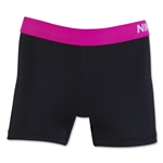Nike Pro 3 Cool Women's Short (Black/Pink)