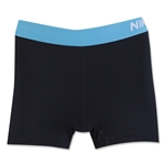 Nike Pro 3 Cool Women's Short (Black/Sky)