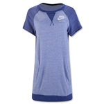Nike Gym Vintage T-Shirt Dress (Royal Blue)