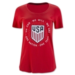 USA Pride Women's T-Shirt (Red)