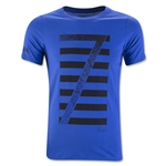Nike Youth Ronaldo Logo T-Shirt (Royal Blue)
