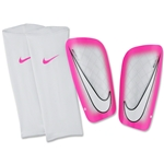 Nike Mercurial Lite 16 Shinguard (White/Pink Blast)