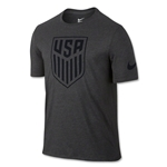 USA Crest T-Shirt (Black)