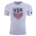 USA Crest T-Shirt (White)