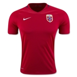 Norway 2016 Home Soccer Jersey