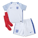 England 2016 Little Boys Home Kit