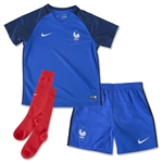 France 2016 Little Boys Home Kit