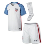 USA 2016 Little Boys Home Soccer Kit