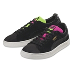 Puma Suade Classic Tricks (Pink Glo/Safety Yellow)