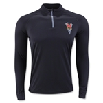 Under Armour Maryland 1/4 Zip Tech Top (Black)