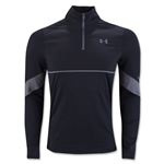Under Armour Pitch 1/4 Zip Long Sleeve Top (Black)