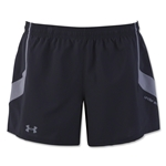 Under Armour Women's Pitch Woven Short (Black)
