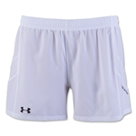 Under Armour Women's Pitch Woven Short (White)
