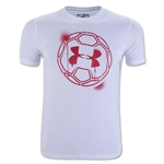 Under Armour Challenger B's Ball Graphic (White)
