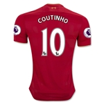 Liverpool 16/17 COUTINHO Home Soccer Jersey