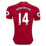 Liverpool 16/17 HENDERSON Home Soccer Jersey