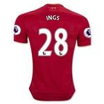 Liverpool 16/17 INGS Home Soccer Jersey
