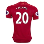 Liverpool 16/17 LALLANA Home Soccer Jersey