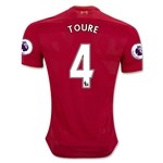 Liverpool 16/17 TOURE Home Soccer Jersey