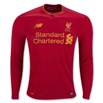 Liverpool 16/17 LS Home Soccer Jersey