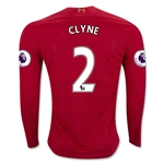 Liverpool 16/17 CLYNE LS Home Soccer Jersey