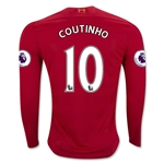 Liverpool 16/17 COUTINHO LS Home Soccer Jersey