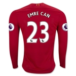 Liverpool 16/17 EMRE CAN LS Home Soccer Jersey