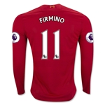 Liverpool 16/17 FIRMINO LS Home Soccer Jersey