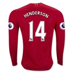 Liverpool 16/17 HENDERSON LS Home Soccer Jersey