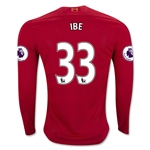 Liverpool 16/17 IBE LS Home Soccer Jersey
