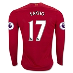 Liverpool 16/17 SAKHO LS Home Soccer Jersey