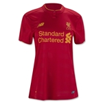 Liverpool 16/17 Women's Home Soccer Jersey
