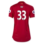 Liverpool 16/17 IBE Women's Home Soccer Jersey