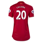 Liverpool 16/17 LALLANA Women's Home Soccer Jersey