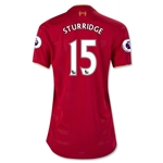 Liverpool 16/17 STURRIDGE Women's Home Soccer Jersey
