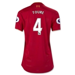 Liverpool 16/17 TOURE Women's Home Soccer Jersey