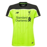 Liverpool 16/17 Women's Third Soccer Jersey