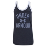 Under Armour Women's Favorite Graphic Tank (Black)