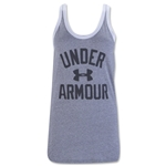 Under Armour Women's Favorite Graphic Tank (Gray)